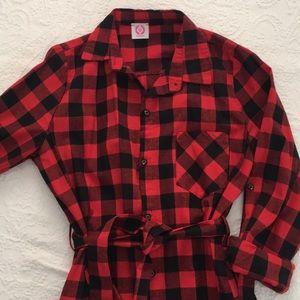 Dresses & Skirts - Red Buffalo Check Dress